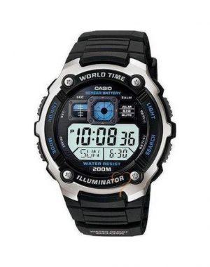 ΡΟΛΟΙ CASIO WORLD TIME ALARM AE-2000W-1A
