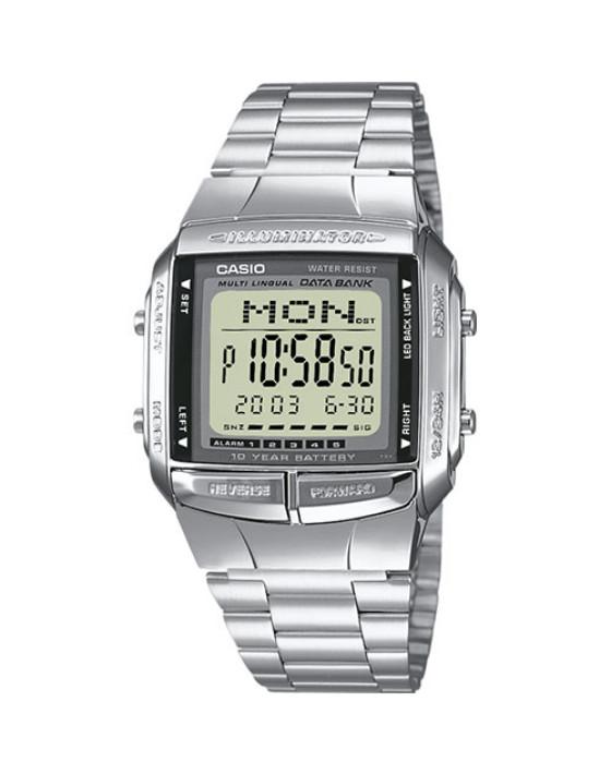 Ρολόγια Casio - DATABANK DB-360N-1A - ανδρικό