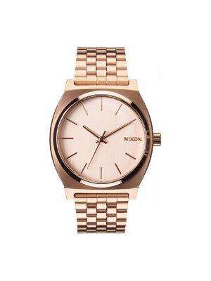 Ρολοι Nixon The Time Teller Ροζ χρυσο