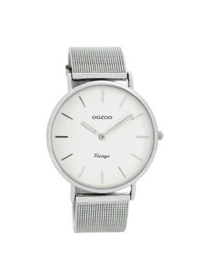 Ρολόι Oozoo vintage C7724 unisex ασημί