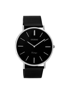 Ρολόι Oozoo C8865 μαυρο vintage Unisex
