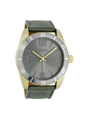 Ρολόι Oozoo C5741 γυναικείο πράσινο λουράκι