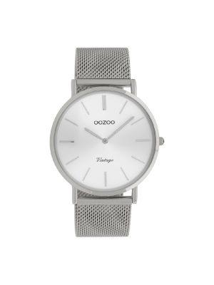 Ρολόι Oozoo C9905 vintage unisex ασημι