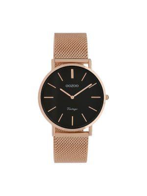 Ρολόι Oozoo C9926 vintage unisex ροζ χρυσο