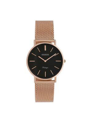 Ρολόι Oozoo C9927 vintage γυναικείο ροζ χρυσο