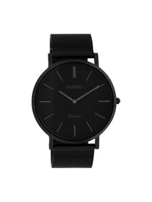Ρολόι Oozoo C9932 μαυρο Unisex μπρασελε