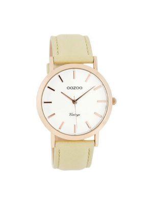 Γυναικειο Ρολόι Oozoo C8110 vintage Ροζ χρυσο