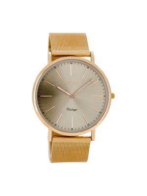 Γυναικειο Oozoo C8160 vintage ροζ χρυσο ρολόι
