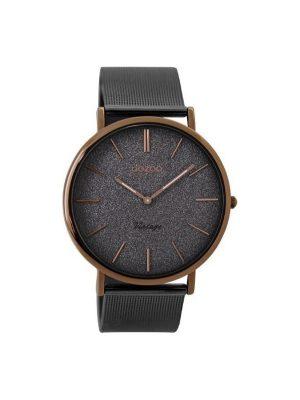 Γκρι ρολόι Oozoo C8861 vintage 40mm