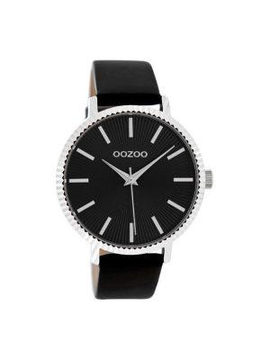 Γυναικείο ρολόι Oozoo C9199 μαύρο λουράκι