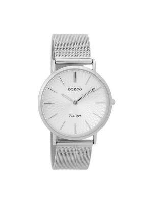 Γυναικειο Oozoo C9341 vintage ασημί ρολόι