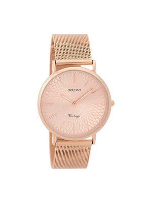 Γυναικειο Oozoo C9344 vintage ροζ χρυσο ρολόι
