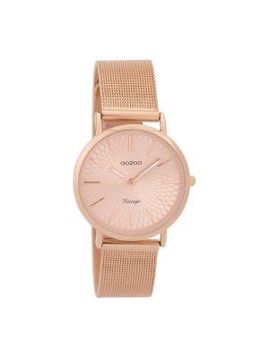 Γυναικειο Oozoo C9345 vintage ροζ χρυσο ρολόι
