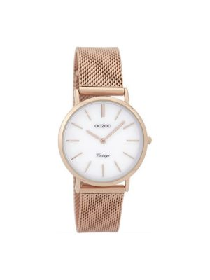 Γυναικειο Oozoo C9365 vintage ροζ χρυσο ρολόι