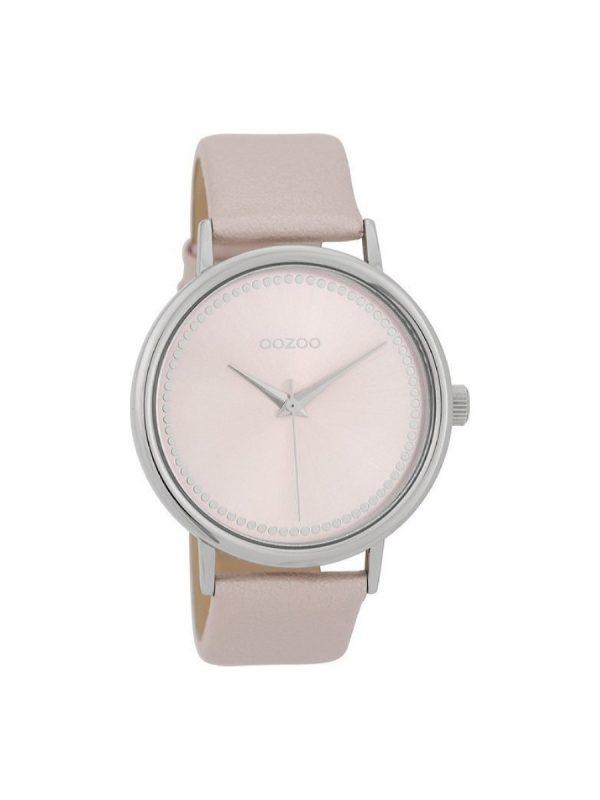 Γυναικείο Ρολόι Oozoo C9705 ροζ δερμάτινο