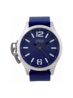 Ρολόι Oozoo steel xxl OS279 μπλε