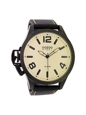 Ανδρικό ρολόι Oozoo steel OS341 καφέ λουράκι
