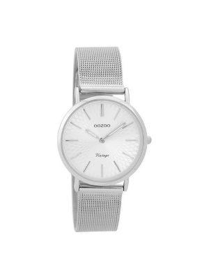 Γυναικειο Oozoo C9342 vintage ασημί ρολόι