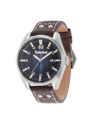 Ανδρικό ρολόι Timberland T15025S03 Καφέ/Μπλε