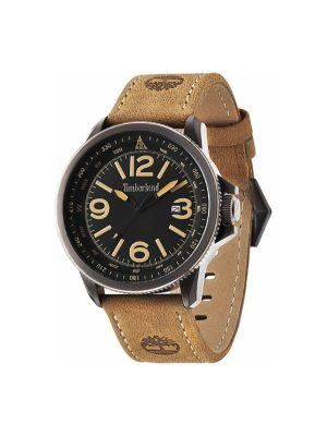 Ανδρικό ρολόι Timberland T14247SBU02 Καφέ
