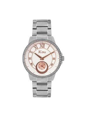 Γυναικείο ρολόι COU Royal Crystals Three Hands