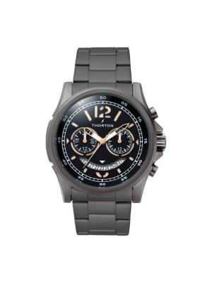 Ανδρικό ρολόι Thorton Ivar 9007121M Μαύρο