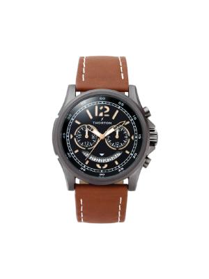 Ανδρικό ρολόι Thorton Ivar 9007121 Καφέ