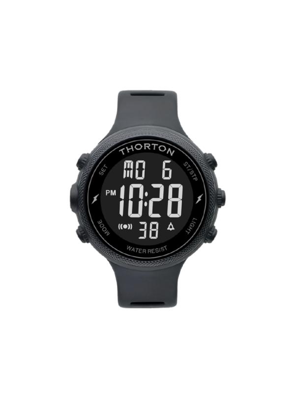 Ανδρικό ρολόι Thorton Sigurd 9101301 Μαύρο