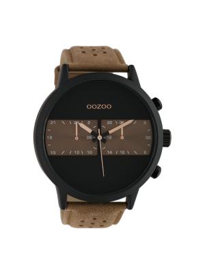 Ανδρικό ρολόι Oozoo C10302 Καφέ λουράκι