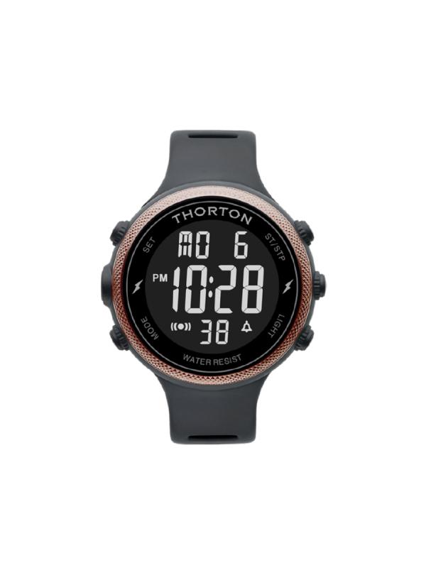 Ανδρικό ρολόι Thorton Sigurd 9101305 Μαύρο