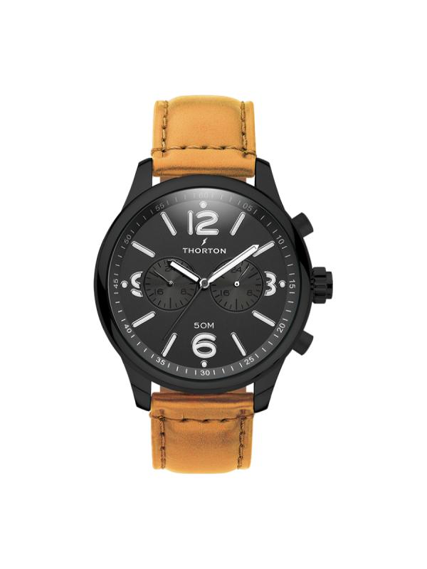 Ανδρικό ρολόι Thorton Ragnar 9002111 Καφέ