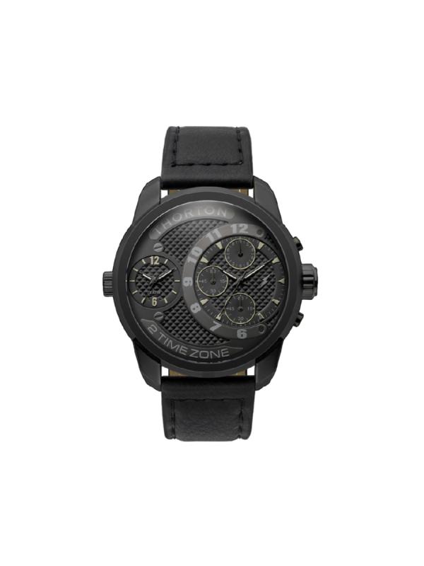 Ανδρικό ρολόι Thorton Vidar 9001112 Μαύρο