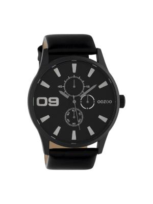 Ανδρικό ρολόι Oozoo C10349 Μαύρο λουράκι