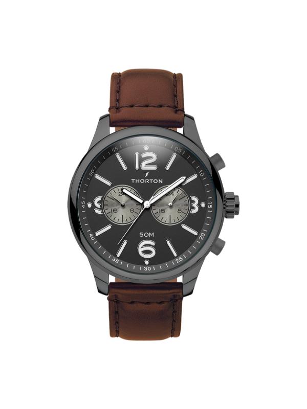 Ανδρικό ρολόι Thorton Ragnar 9002121 Καφέ