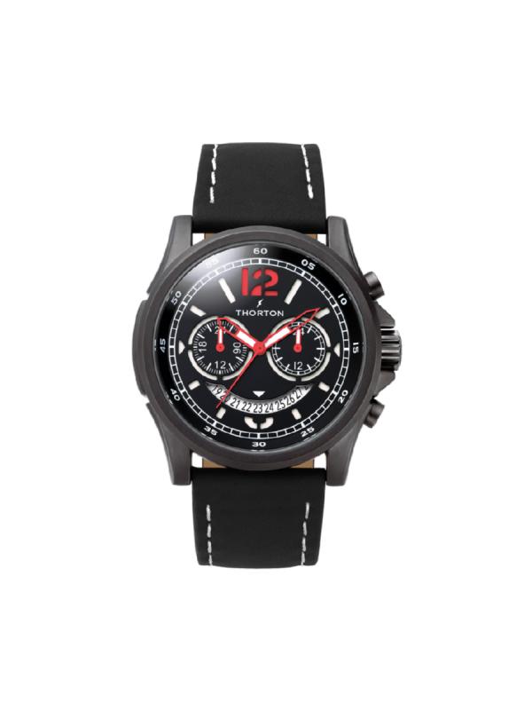 Ανδρικό ρολόι Thorton Ivar 9007111 Μαύρο