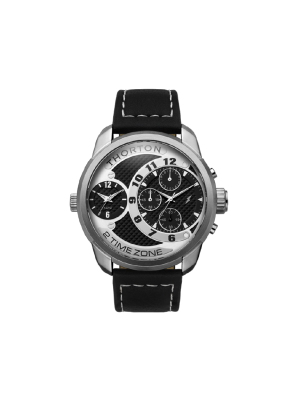 Ανδρικό ρολόι Thorton Vidar 9001131 Μαύρο