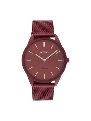 Γυναικείο ρολόι Oozoo C20006 Μπορντό λουράκι