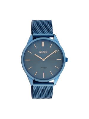 Γυναικείο ρολόι Oozoo C20007 Μπλε λουράκι