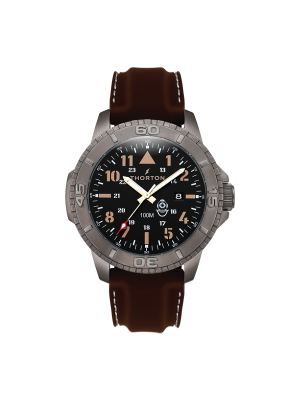 Ανδρικό ρολόι Thorton Odin 9204321 Καφέ