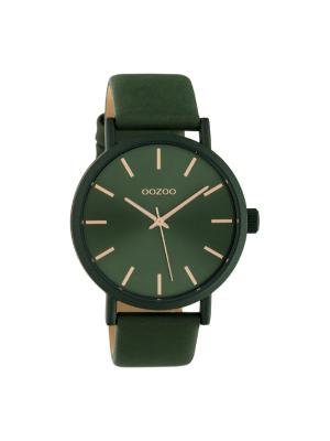Unisex ρολόι Oozoo C10453 Πράσινο λουράκι
