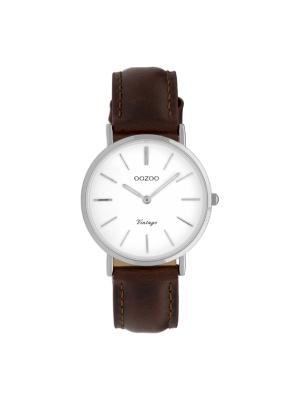 Γυναικείο ρολόι Oozoo C9835 Καφέ λουράκι