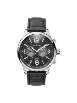 Ανδρικό ρολόι Thorton Rangar 9002131 Μαύρο