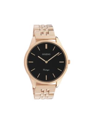 Unisex ρολόι Oozoo C9989 Ροζ χρυσό