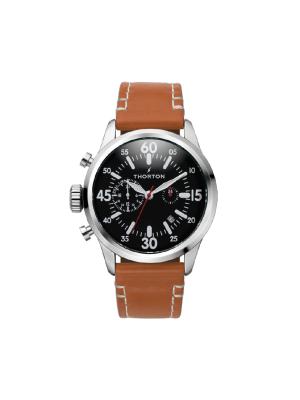 Ανδρικό ρολόι Thorton Arne 9003132 Καφέ