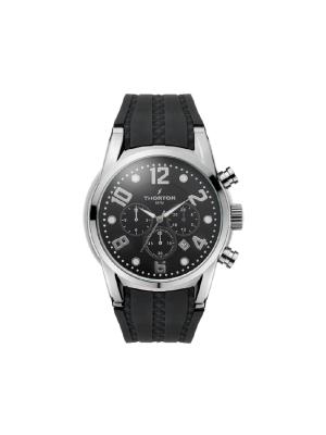 Ανδρικό ρολόι Thorton Harald 9005331 Μαύρο