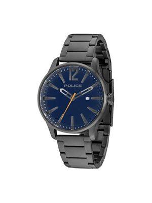 Ανδρικό ρολόι Police PL14764JSU03 Μαύρο