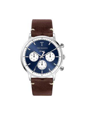 Ανδρικό ρολόι Trussardi R2451135004 Καφέ