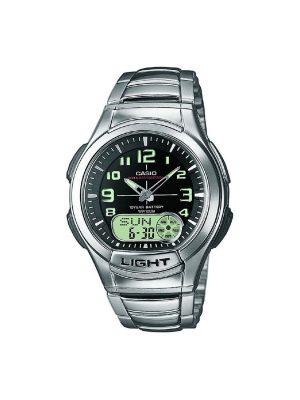 Ανδρικό ρολόι Casio AQ-180WD-1BV Ασημί