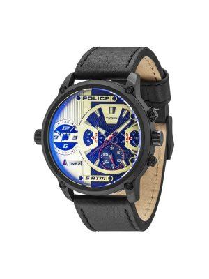 Ανδρικό ρολόι Police PL14833JSB04 Μαύρο