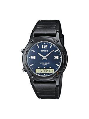 Ανδρικό ρολόι Casio AW-49HE-2A Μαύρο
